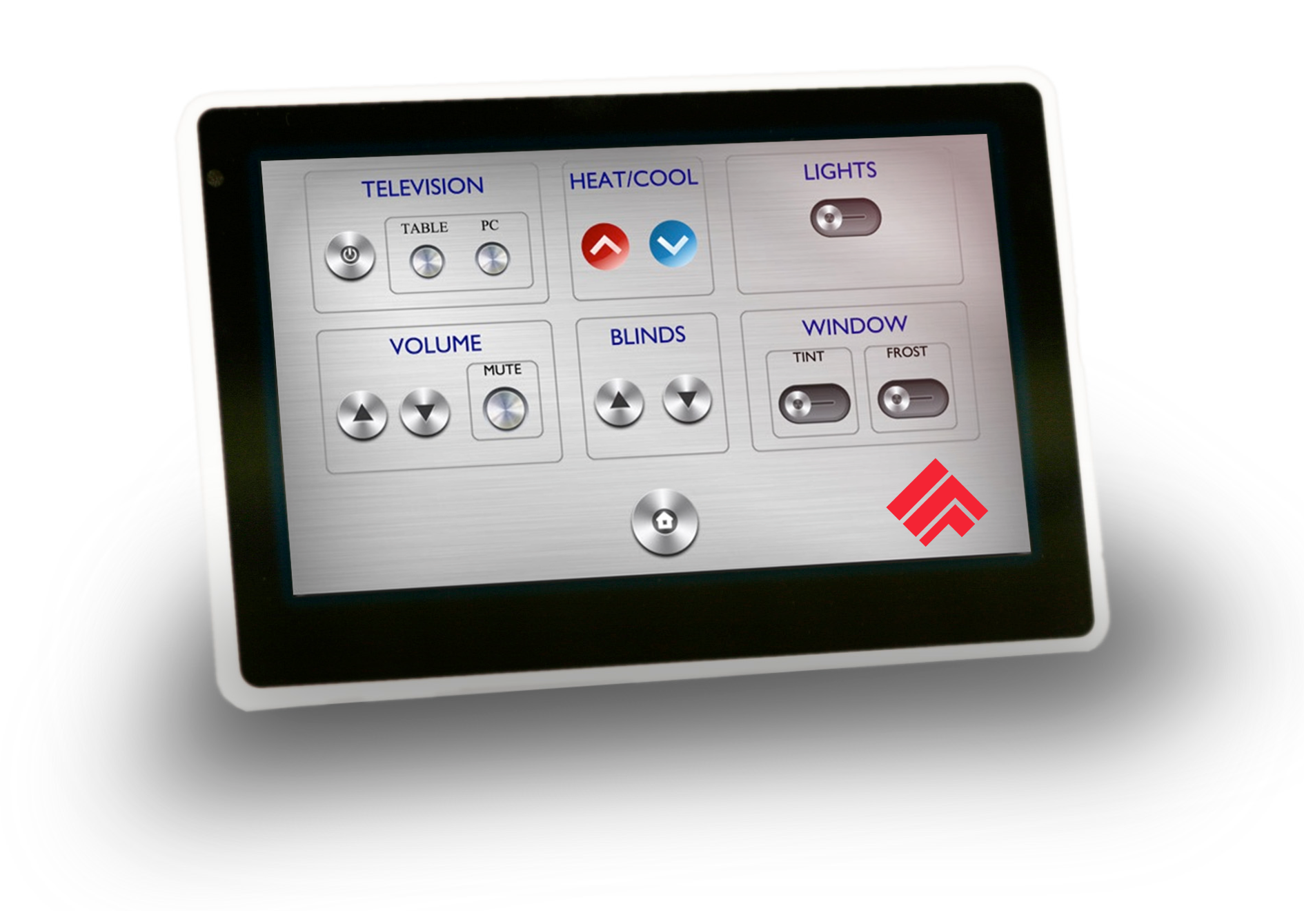 7 Inch Poe In Wall Capacitive Touch Screen Client Hrs