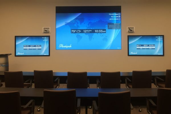 Plastipak Collaboration Room Video Conferencing
